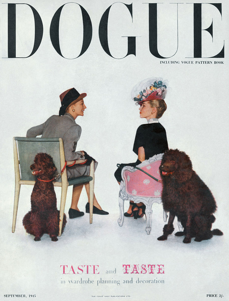 Dogue Archives September 1945