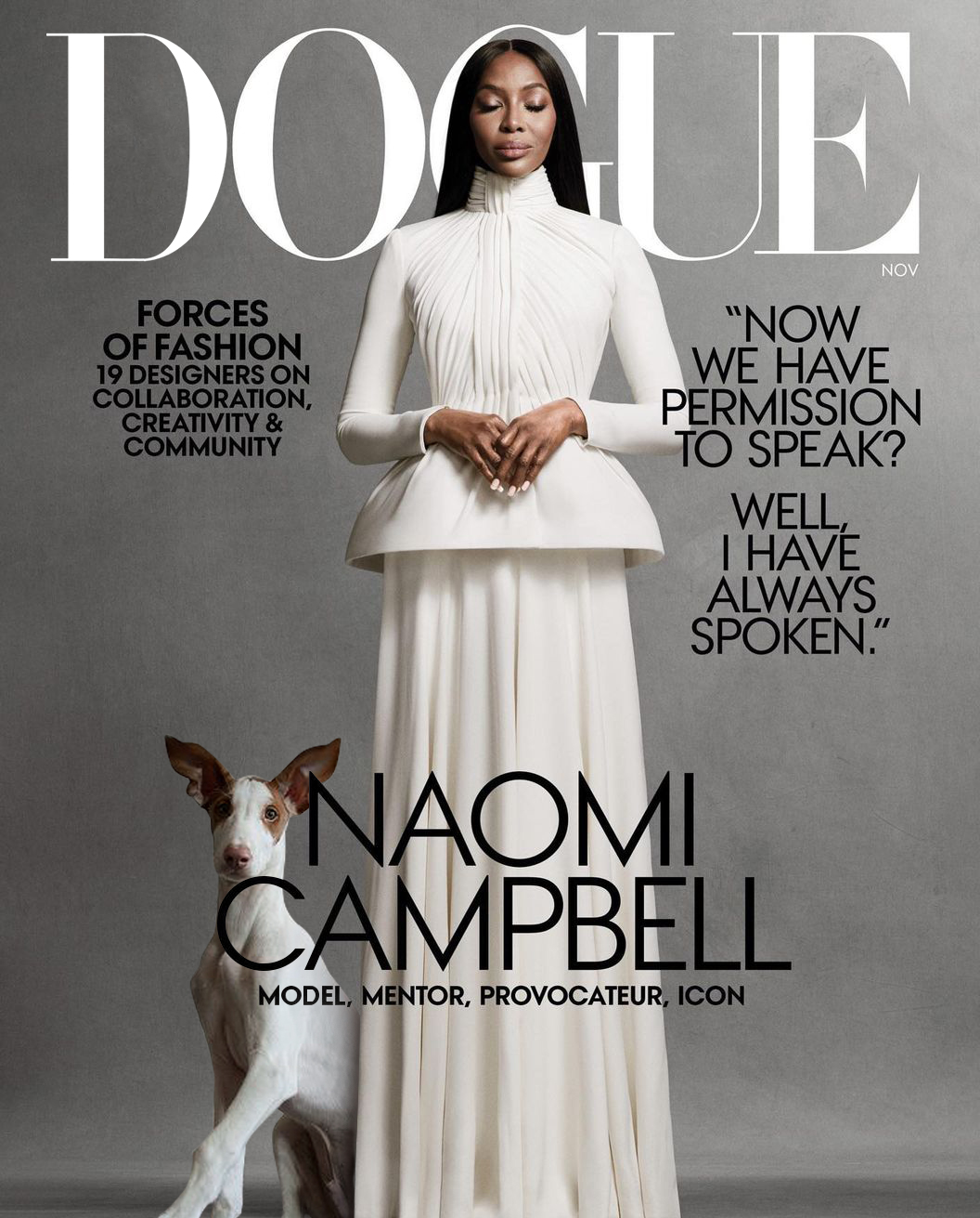 Dogue Magazine Naomi Campbell 2020